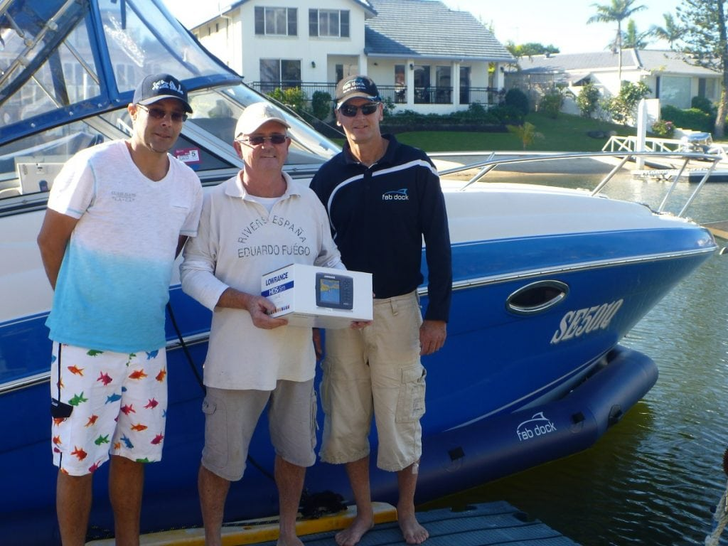 Lowrance and FAB Dock team up