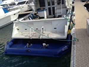 The best dry docking system